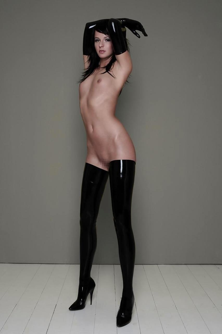 Проститутка брюнетка в коже 17 фотография